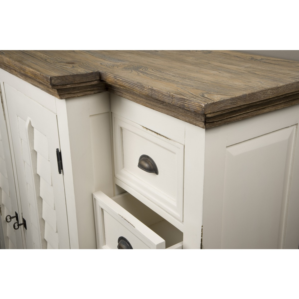 palermo-dressoir-louvre-deur-old-pine-wit-gelakt