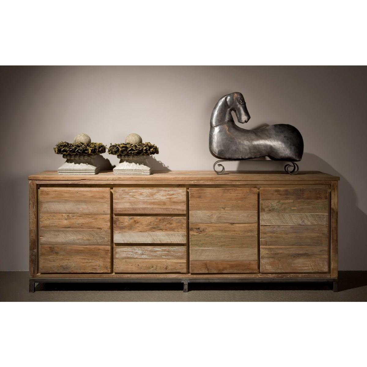venetië-dressoir-recycled-teak-vintage-white-wash-metaal-pootstel-sfeer