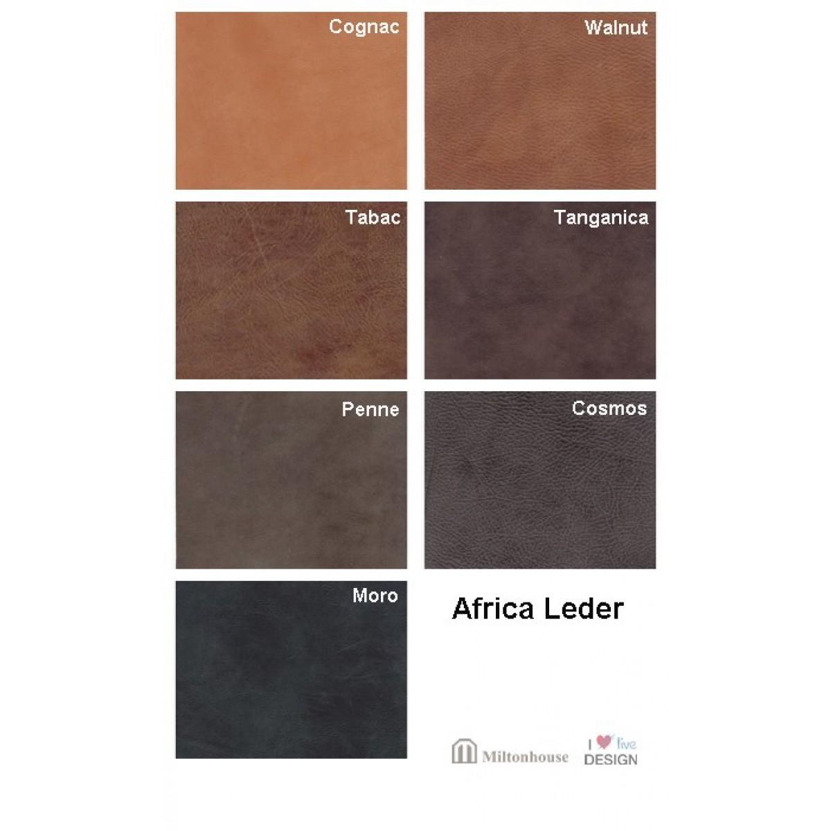 Africa-leder-leer
