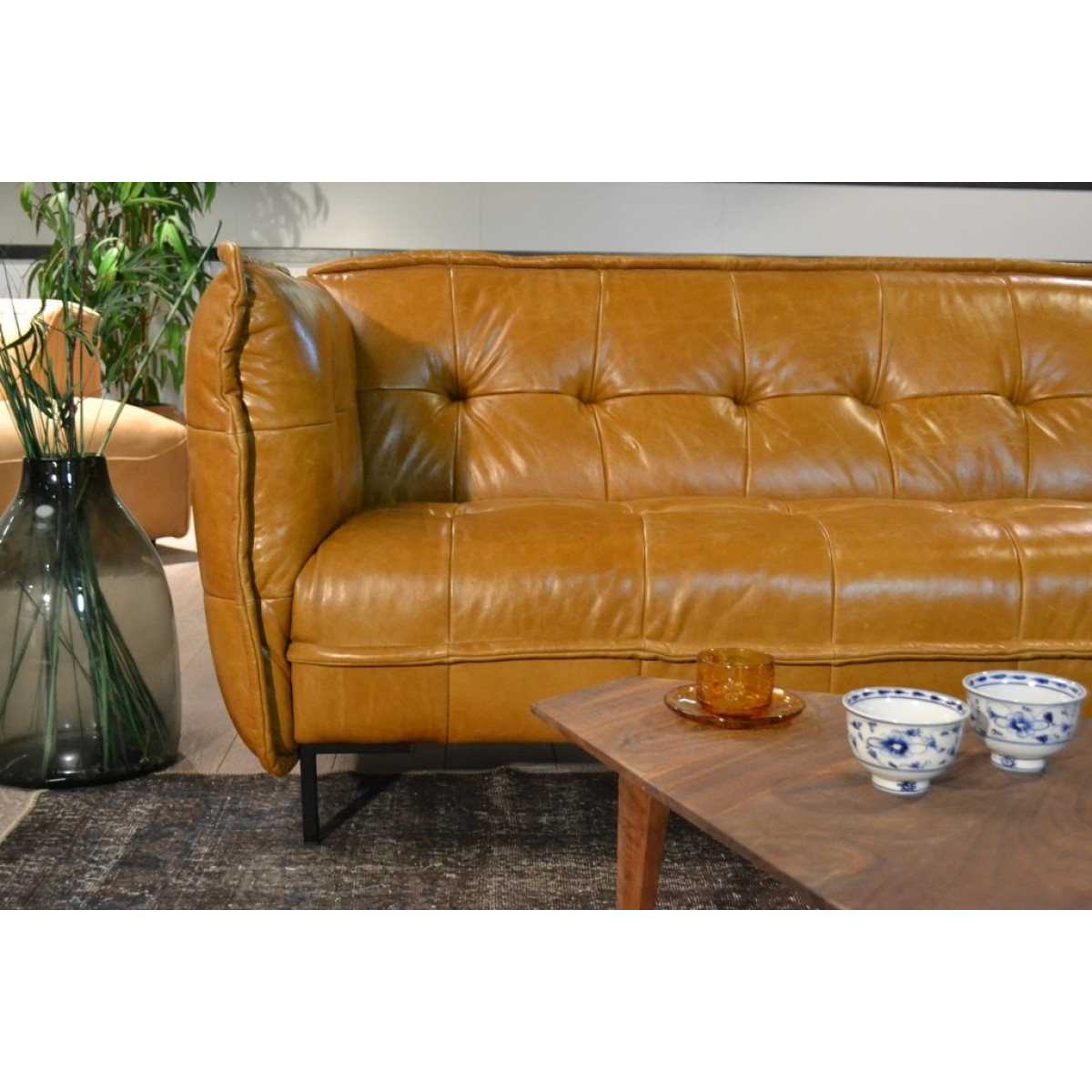bank_slimm_jim_patch_work_leder_leer_da_silva_tabacco_cognac_tom_club_easy_sofa_sfeerdetail