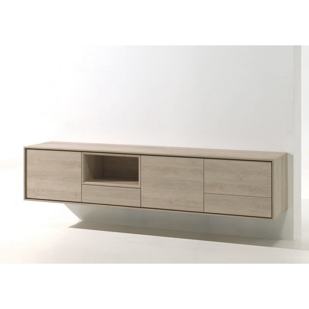 Eiken Dressoir En Tv Kast.Kyara Hangend Tv Meubel C0059a I Live Design