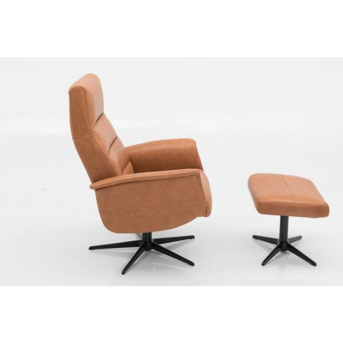 dixon-draaifauteuil-relax-fauteuil-hjort-knudsen-semi-analin-leer-zijkant