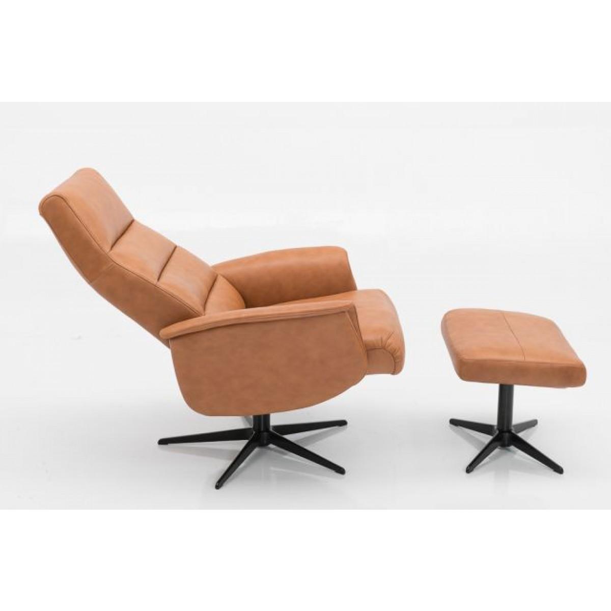 dixon-draaifauteuil-relax-fauteuil-hjort-knudsen-semi-analin-leer-zijkant-uitgeklapt