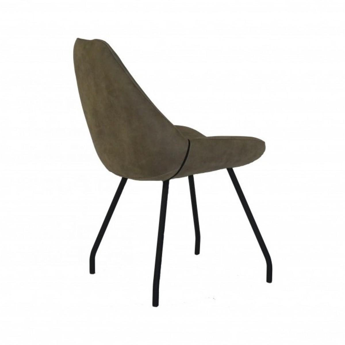 punto-stoel-rug-metalen-poot-zwart-kuipstoel