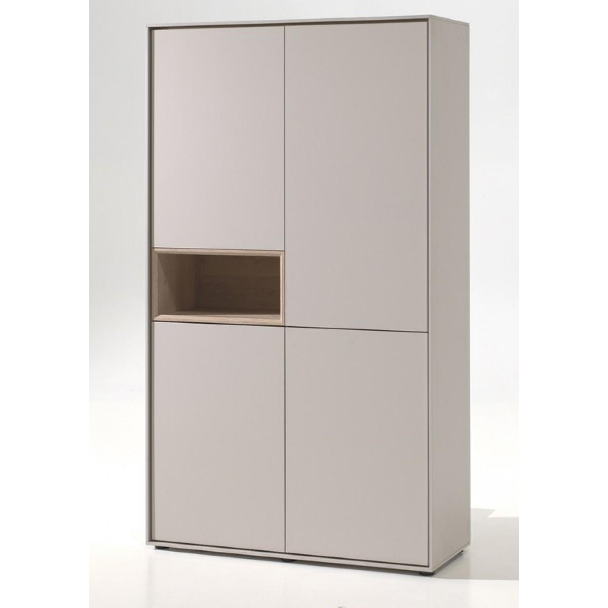 Kyara-bergkast-open-vak- eiken-cashmere-c0062b