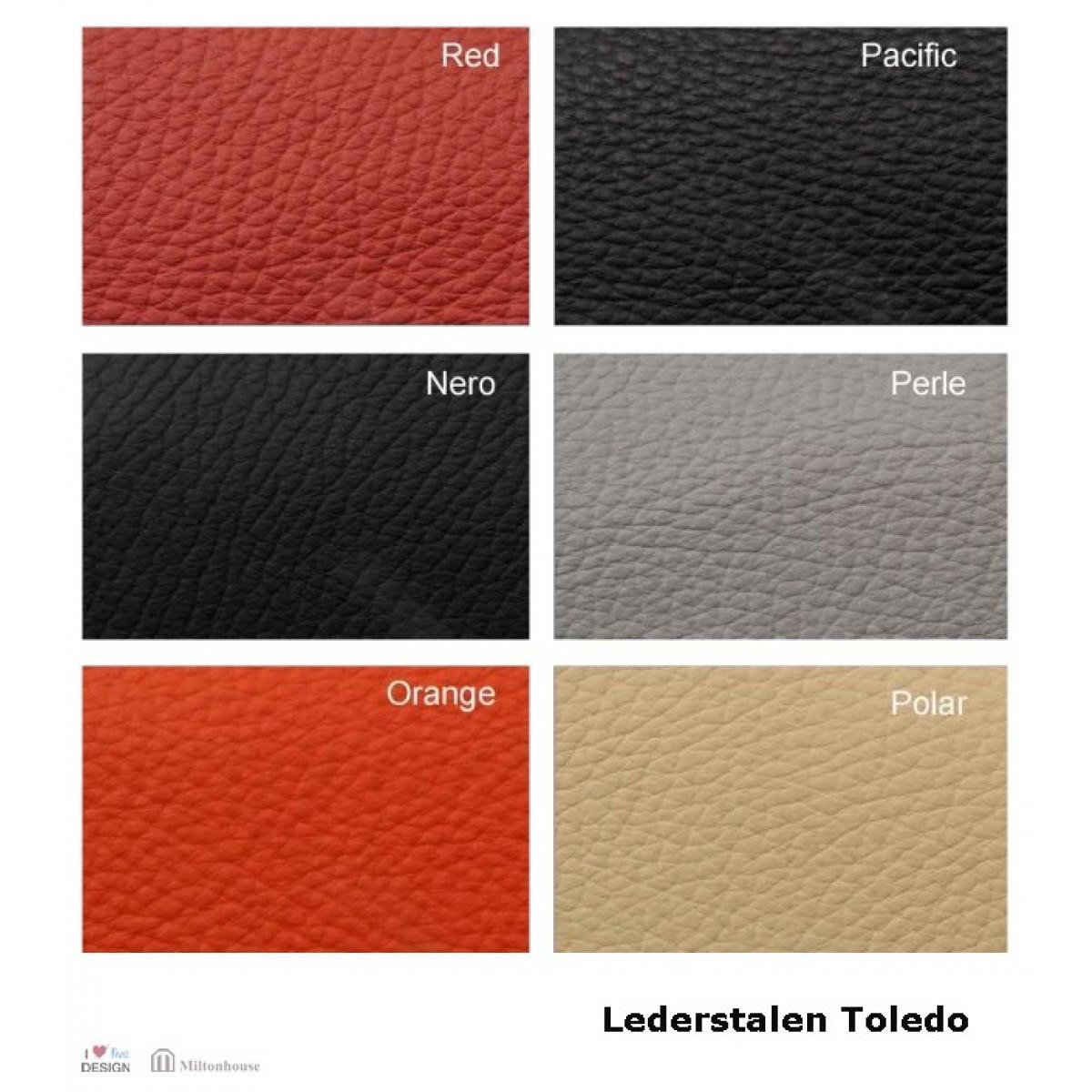 Toledo-leer-stalen