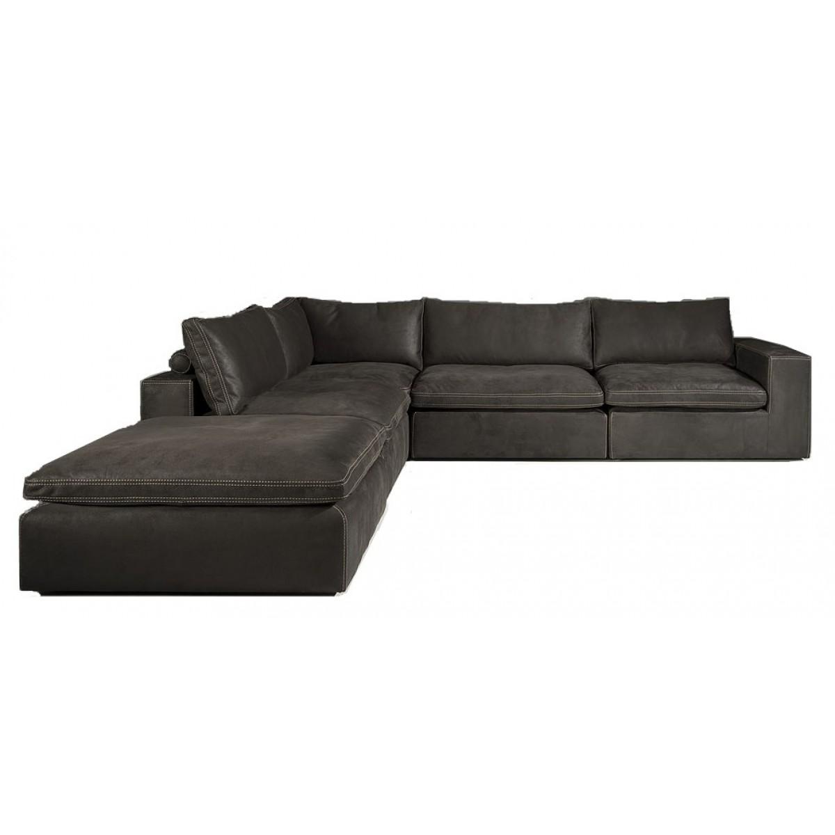 liknel-hoekbank-congo-leder-zwart-kontrast-stiksel