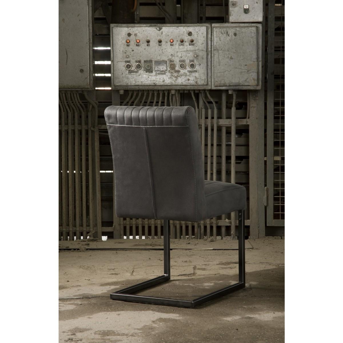 ferro_stoel_eetkamerstoel_zonder_arm_metaal_frame_vintage_retro_stiksel