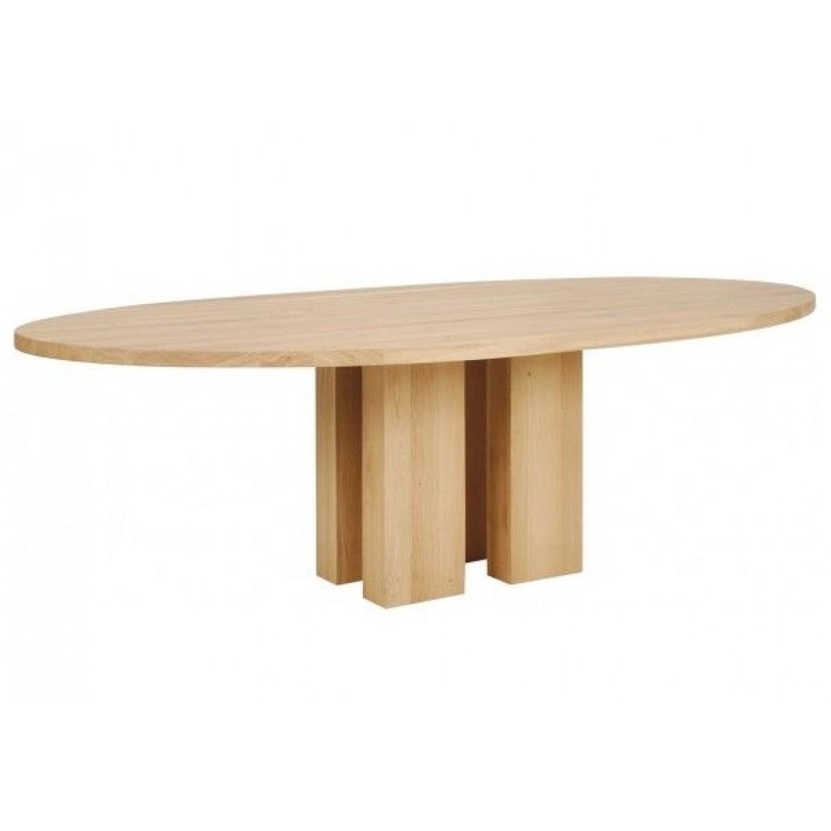 ovaal-ovale-tafel-eettafel-eetkamertafel-eiken-kolompoot-blank-eiken