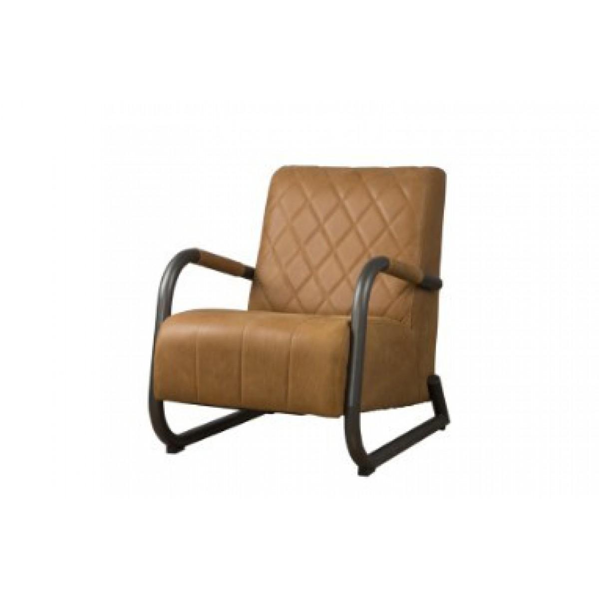 ranch-coffeechair-fauteuil-vintage-leer-rust-lm0012