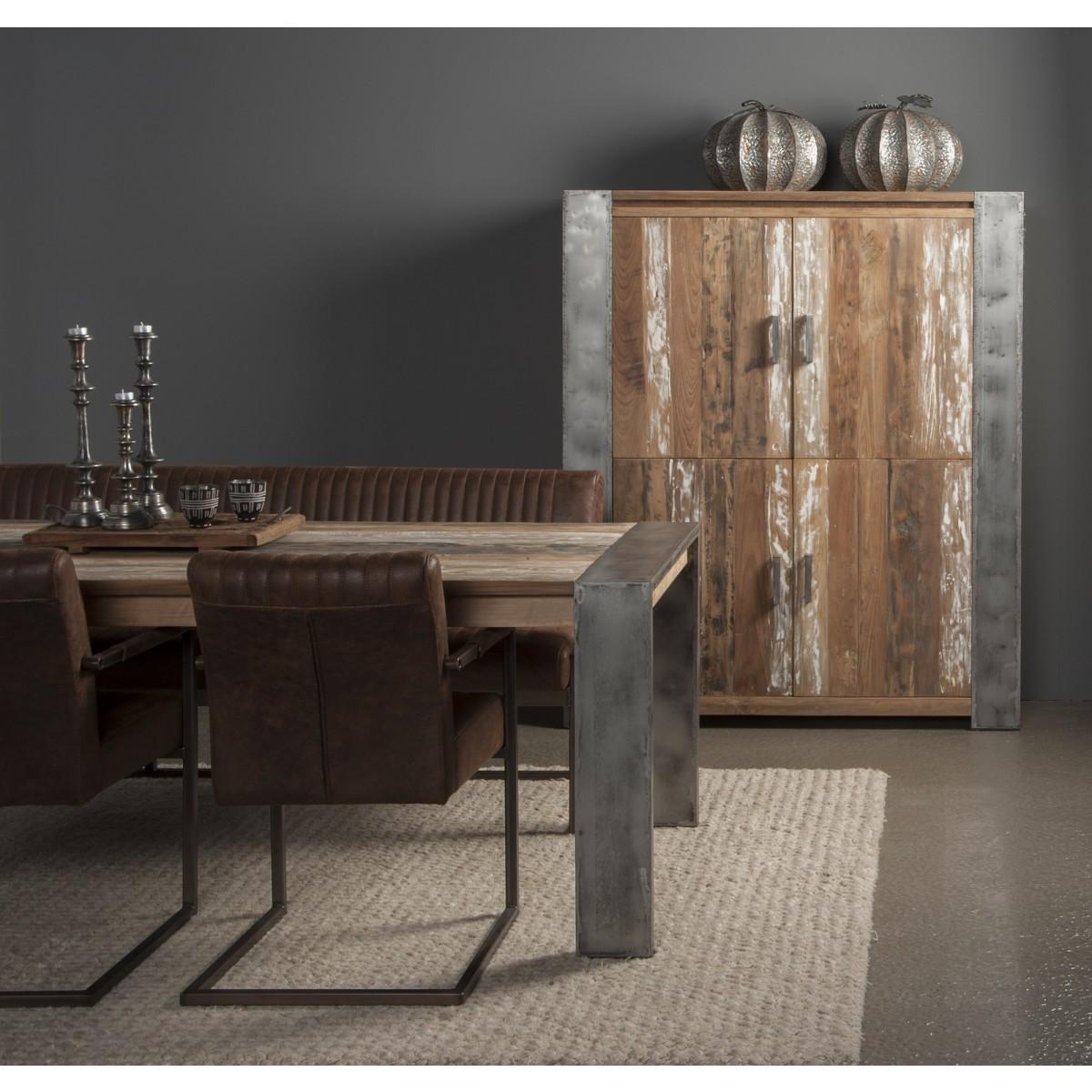 tafel-novara-recycled-teakhout-metalen-poot-industrieel-robuust-detail-u-poot