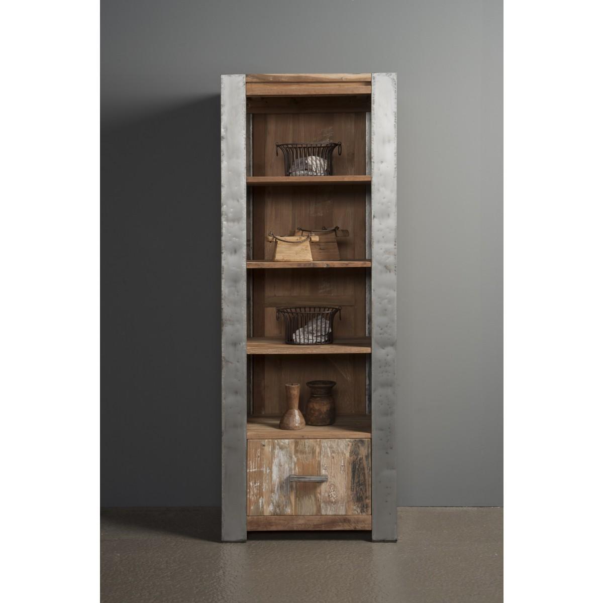 boekenkast-teak-hout-recycled-metalen-poot.jpg