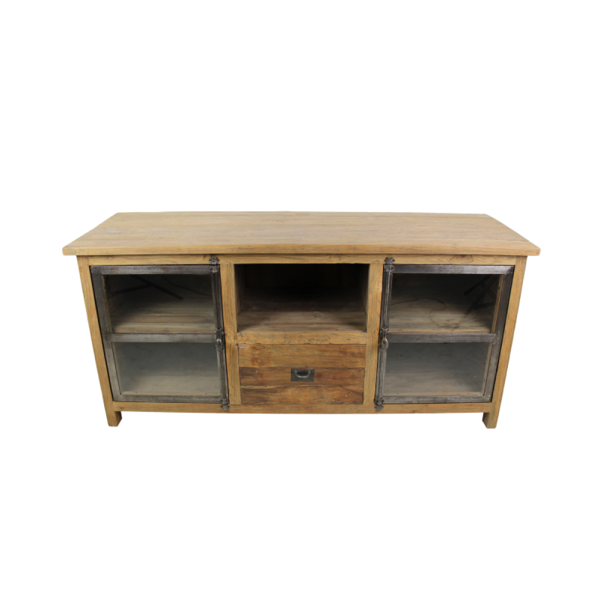 tv-meubel-dingklik-teakhout-metaal-glas-KA-TD150D.