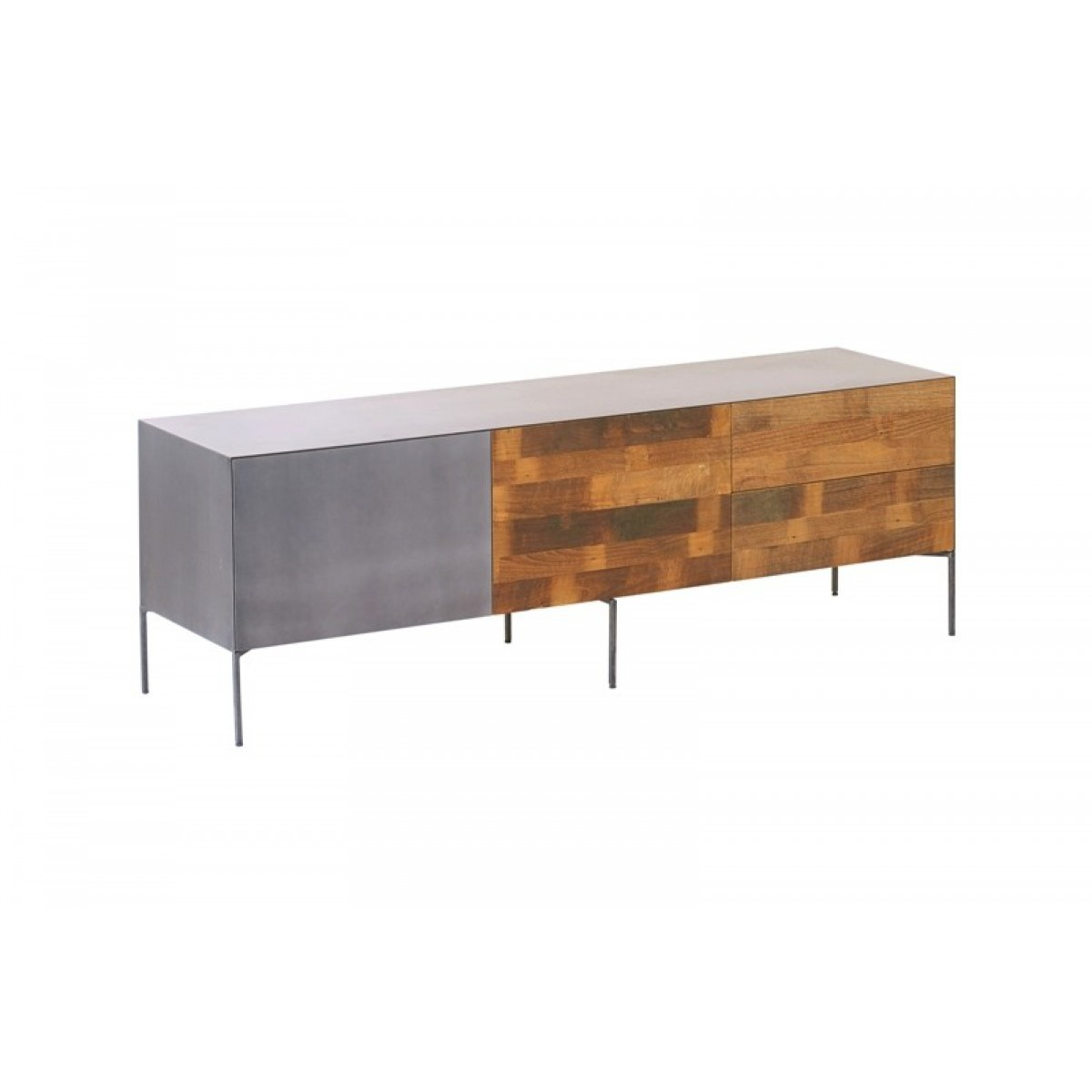 pandora-tv-dressoir-deur-klep-lade-166cm