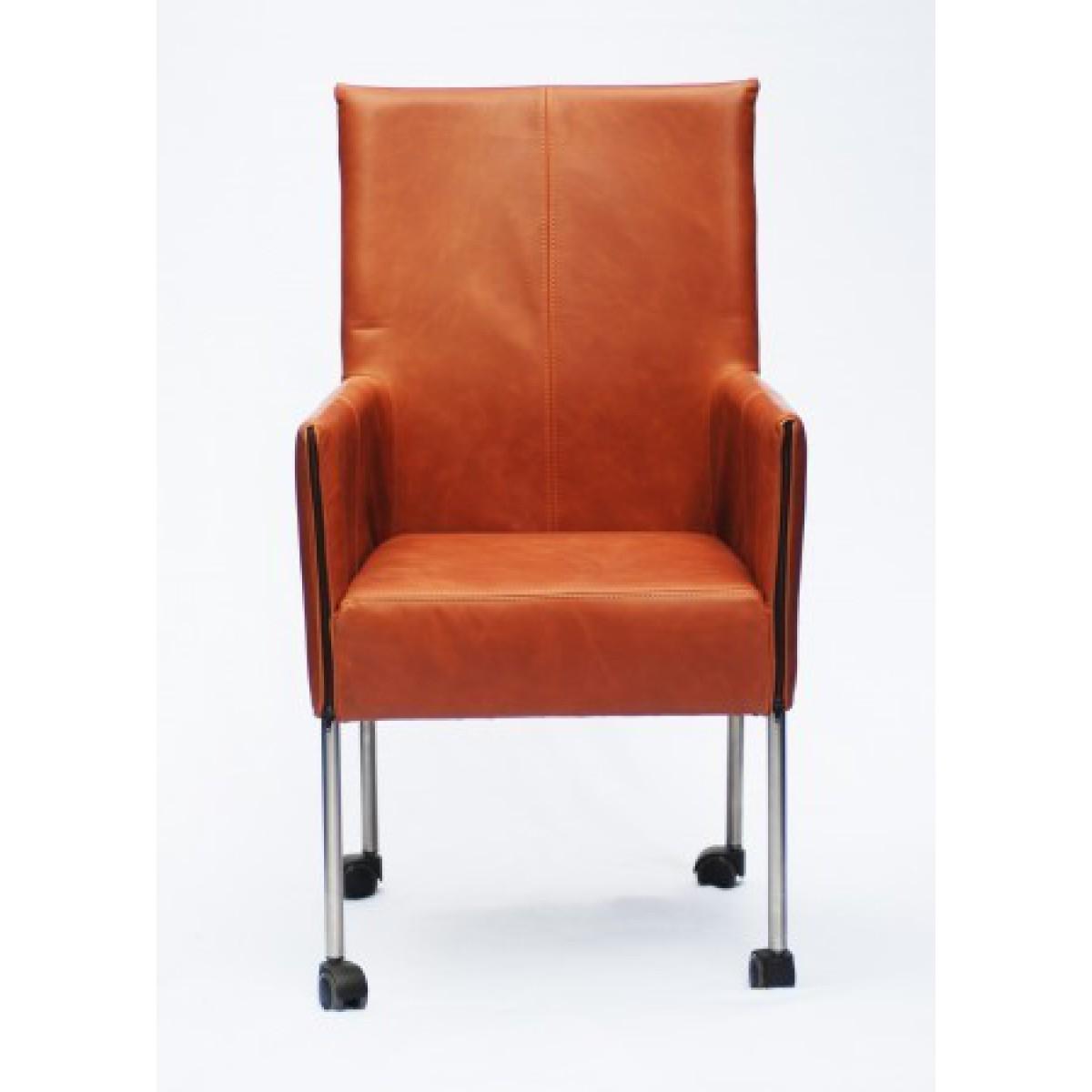viton-eetkamerstoel-op-wielen-he-design-leder-voorkant
