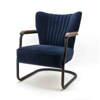 Milu-fauteuil-eleonora-vintage-retro-velours-blauw