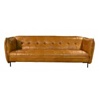 bank_slimm_jim_patch_work_leder_leer_da_silva_tabacco_cognac_tom_club_easy_sofa_voorkant