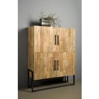 4_deurs_bergkast_cabinet-potenza_teak_metaal_PF 0105_miltonhouse