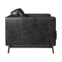 boris-fauteuil-loveseat-1zits-1,5zits-leder-walnut-zijkant