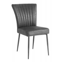 toledo-eetkamerstoel-armchair-retro-tapse-poot-antracite