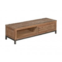 venetië-tvdressoir-140cm-recycled-teak-vintage-white-wash-metaal-pootstel-detail