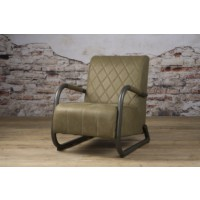 ranch-coffeechair-fauteuil-vintage-leer-olive-lm0011