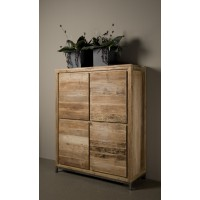 venetië-bergkast-breed-recycled-teak-vintage-white-wash-metaal-pootstel