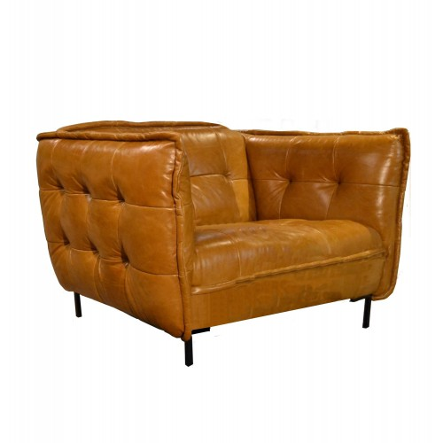 1_zits_fauteuil_loveseat_slimm_jim_patch_work_leder_leer_da_silva_tabacco_cognac_tom_club_easy_sofa_schuin