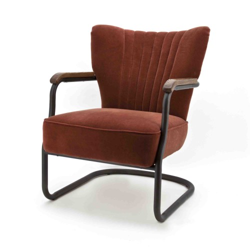 Milu-fauteuil-eleonora-vintage-retro-velours-brique