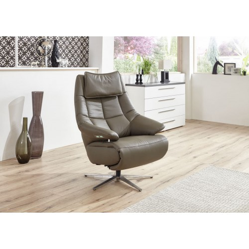 Hukla relaxfauteuil leder