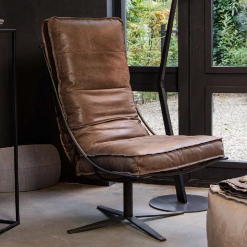 cocktail-fauteuil-leer-het-anker-miltonhouse-schuin