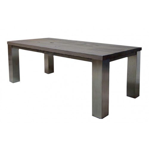 eettafel_lars_eiken_rvs_poot_square_collection