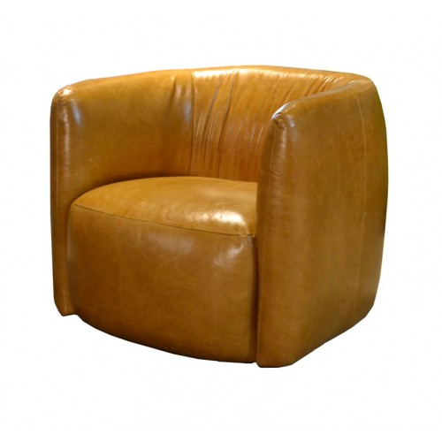fauteuil_trias_tribeca_leder_cognac_dasilva_tabacco_easy_sofa_tom_club_collection_front