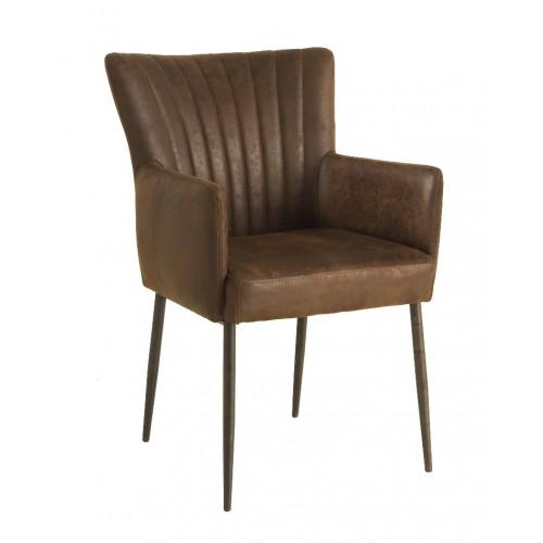 toledo-eetkamerstoel-armchair-retro-tapse-poot