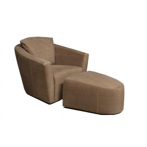 ronda-fauteuil-hocker-leder-africa