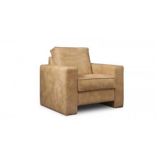 veneto-fauteuil-1,5-zits-leer-africa-tabac