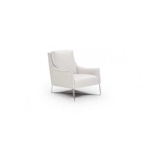 vanessa_natuzzi_editions_b903_leder_fauteuil_wit_schuin