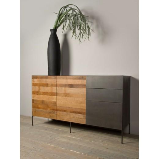 Pandora dressoir 2deurs/3lade 166 cm