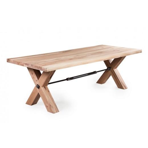 Kansas tafel houten kruispoot