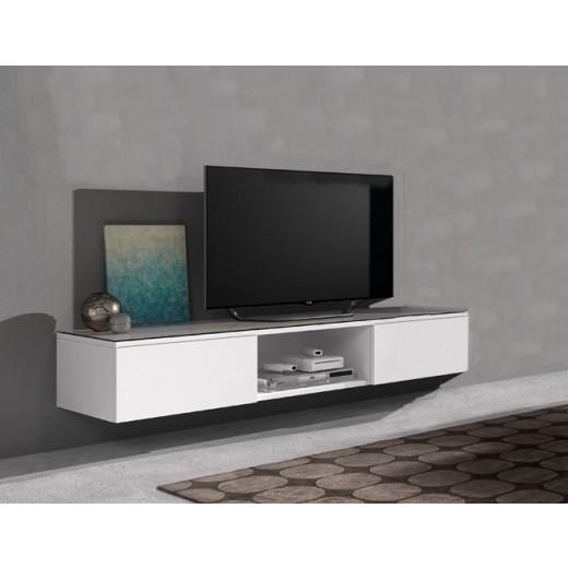 Hangend TV meubel Swift 166 cm open vak