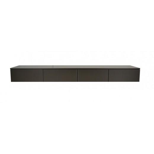 Hangend TV meubel Swift 221 cm 4 laden