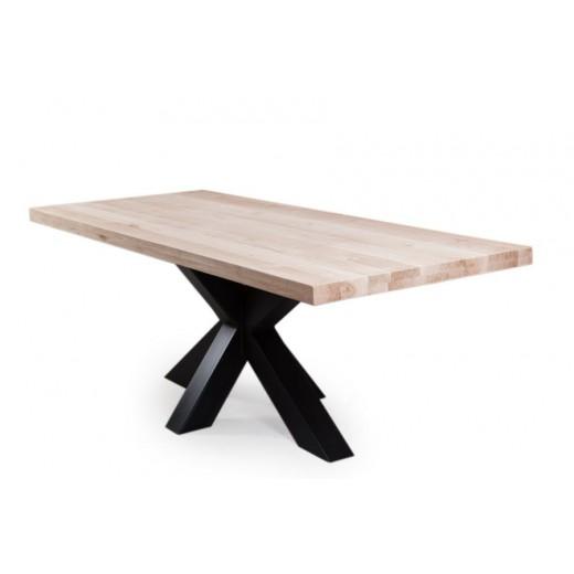 Mikado tafel metalen kruispoot
