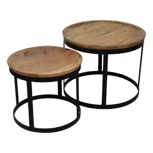 Salontafelset Zen - Set van 2 stuks