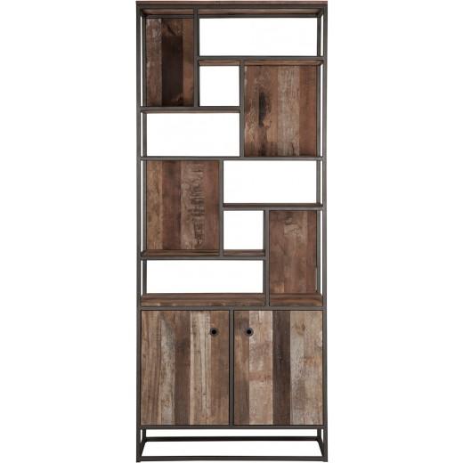 Tuareg boekenkast 2 deuren open vakken - D-Bhodi