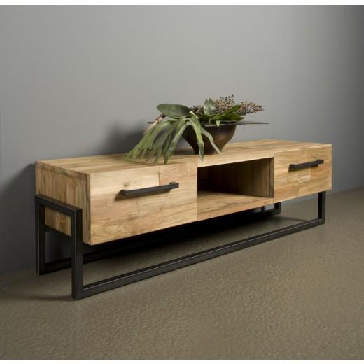 TV dressoir Potenza 2 lade/open vak 150 cm