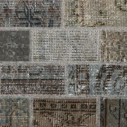 Vintage karpet Uni Grey Allover Design